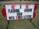 A different Arrow Sign