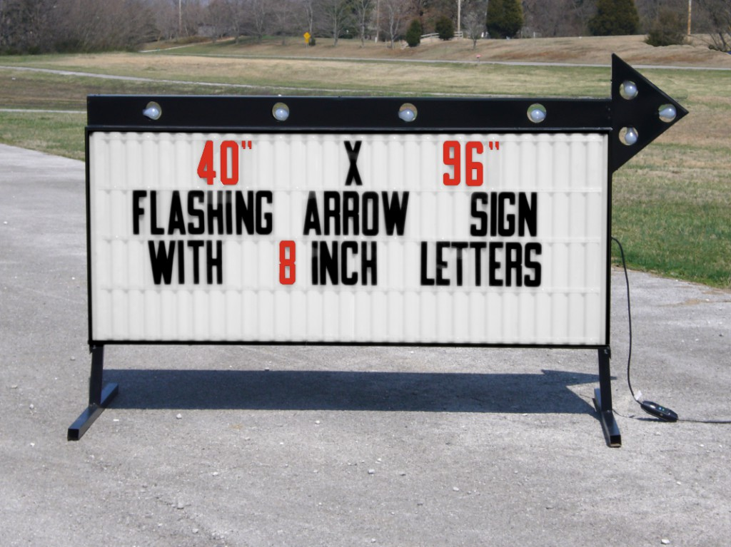 Model A-74096T Outdoor Sign - Outdoorletters.com