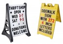 inch letters for changeable sidewalk signs changeable sign letters arrow signs sidewalk signs 2